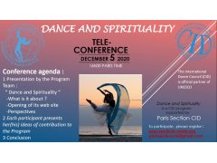CID Tele-conference on Dance and Spirituality
