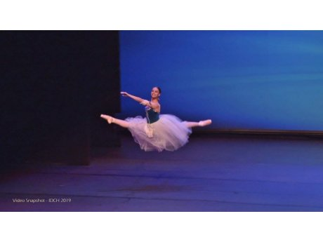 Anamarija Marković won first place at International Dance Competition Hellas ecanju
