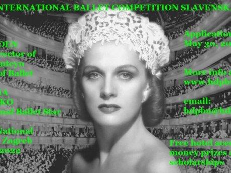 International Ballet Competition SLAVENSKA 2022