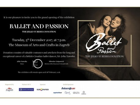 Exhibition Ballet and Passion - Donation of Jelko Yuresha